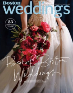 Boston Weddings Magazine cover
